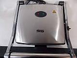 Гриль KB1002 литьевая плита антипригарное покрытие, фото 3