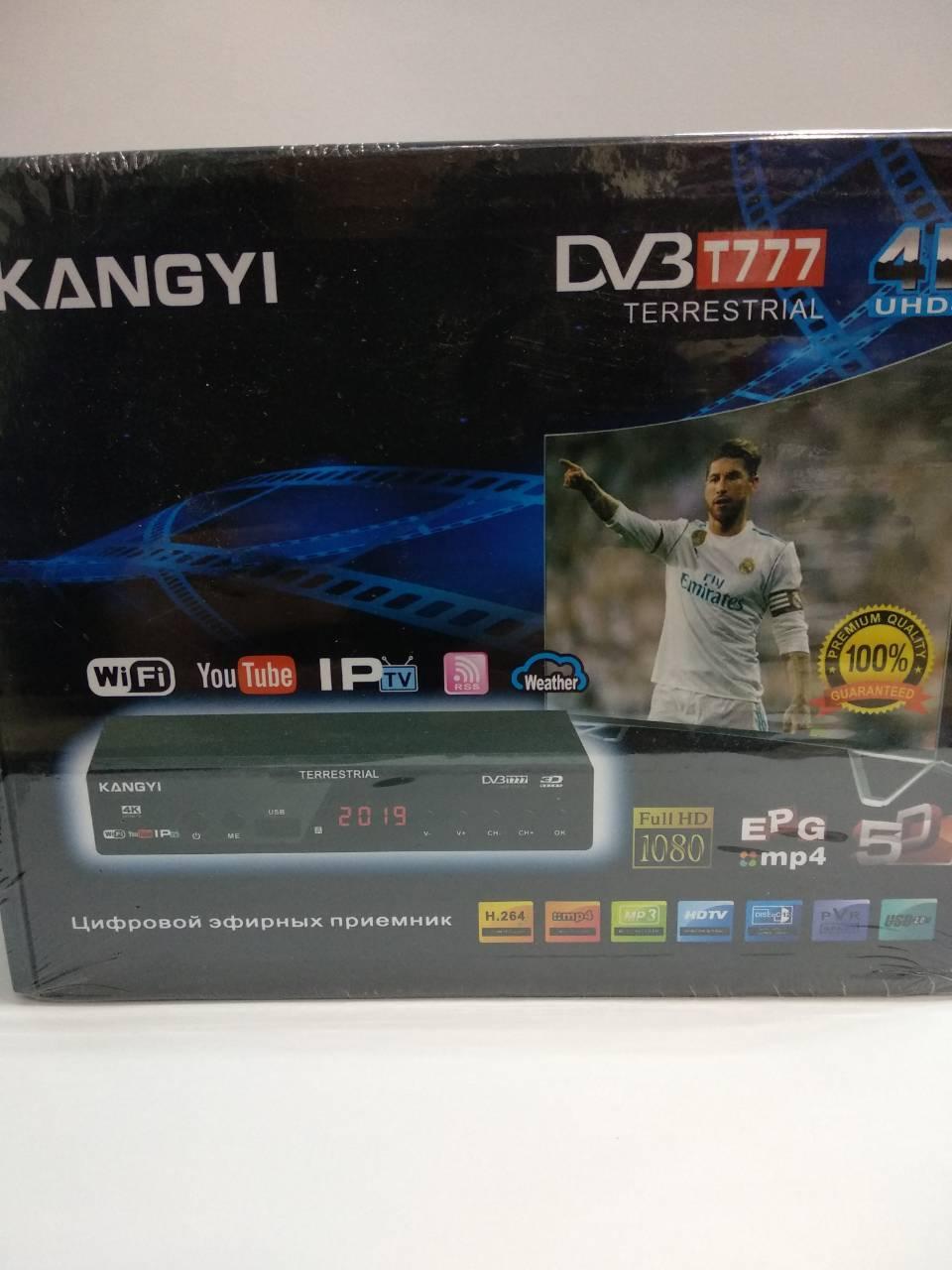 Цифровий ресивер DVB-2019F 4K Т2 Kangyi 4K T77