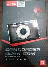 Видеорегистратор Anytek X6 R 0330 CMOS GPS Трекер