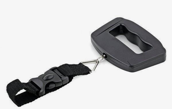 Ваги-кантер цифрові VKTECH S019 для багажу (±10g/50kg) з підсвічуванням