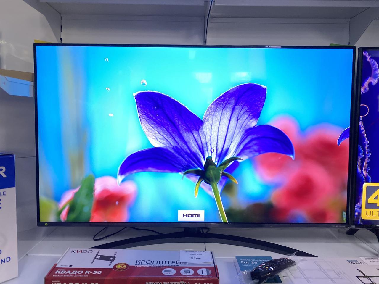 Телевизор 55 LG55UM7450PLA (4KU  UHD3840x2160 / IPS 50ГЦ / DVBT2,SmartTV)