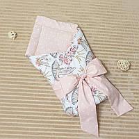 Конверт на выписку летний, конверт-одеяло на выписку хлопок