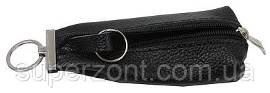 Кожаная ключница ALWAYS WILD 012-55 чёрный