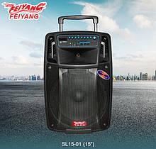 Temeisheng SL1501 акумуляторна bluetooth колонка з мікрофонами