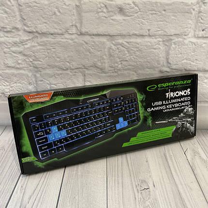 Проводные Клавиатуры Esperanza Wired EGK201, фото 2