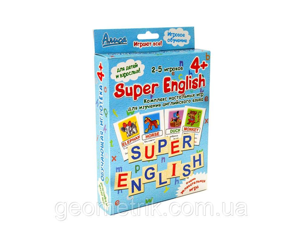 "Настільна гра ""Super English"" 4+"
