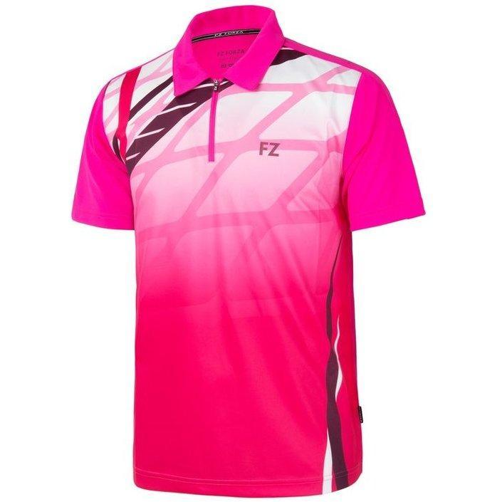 Футболка FZ Forza Gage Mens Polo Pink Glo