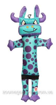 Игрушка для собак GimDog Робот голубой с пищалкой 38 см (текстиль)