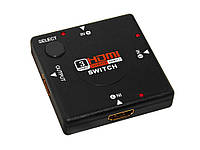Сплиттер 3в1 - переходник на HDMI switch