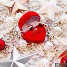 Футляр для кольца Сердце Ж красное, фото 9
