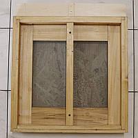 Дно сетчатое на 12 рамок с разделителем, проваренное, из липы