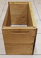 Полукорпус на 6 рамок Дадан (300 мм.), проваренный, из липы