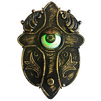 🔝 Живой дверной звонок на праздник хэлоуин   animated haunted eyeball doorbell   🎁%🚚