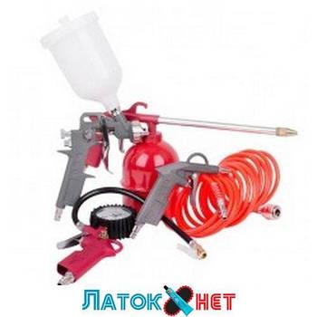 Набор пневматического инструмента 5 предметов PT-1501 Intertool
