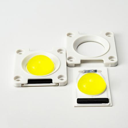 LEd Smart IC 20w з лінзою + накладка Світлодіод 20w 220V 6000K світлодіодна матриця 20w з драйвером на борту