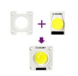 LEd Smart IC 20w з лінзою + накладка Світлодіод 20w 220V 6000K світлодіодна матриця 20w з драйвером на борту, фото 2
