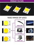 LEd Smart IC 20w з лінзою + накладка Світлодіод 20w 220V 6000K світлодіодна матриця 20w з драйвером на борту, фото 5