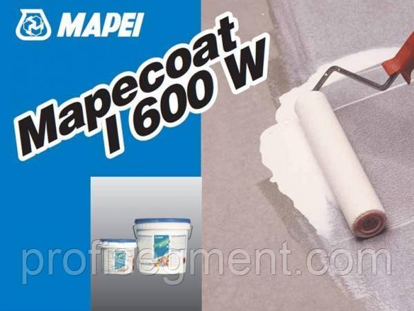 Двухкомпонентная прозрачная эпоксидная пропитка в водной дисперсии (5,9 кг) Mapecoat I 600 W, фото 2