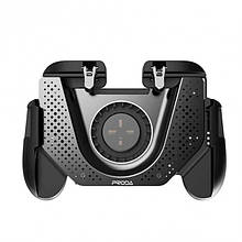 Геймпад для смартфона с охлаждением PRODA PD-D03 Kroos Series Gaming Grip Black
