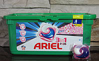 Капсулы для стирки Ariel Touch of Lenor 28 шт  Универсалььные 3-х компонентные