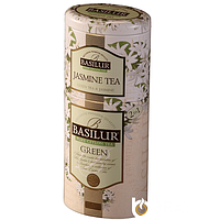 Зелёный чай с Жасмином Basilur ж/б 125 г