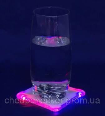 Светящаяся Подставка Под Стакан Светящаяся Подставка Под Бутылку В Упаковке 10 Шт