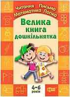 Дошкольник Торсинг Большая книга дошкольника Математика чтение письмо логика