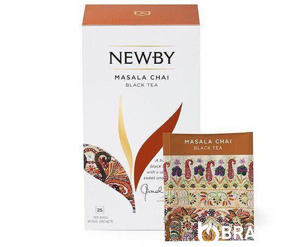 Черный чай Newby Масала в пакетиках 25 шт (311450)