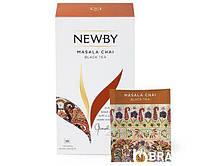 Черный чай Newby Масала в пакетиках 25 шт (311450), фото 1