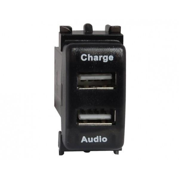 Автомобільний USB роз'єм CARAV Nissan (17-106)