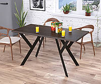 Стол обеденный Ишла Loft Design Венге Корсика