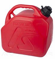 Канистра пластиковая ДК для бензина и дизеля с лейкой 5 литров