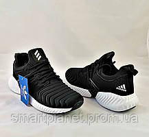 Кроссовки Мужские Adidas Alphabounce Чёрные Адидас (размеры: 41,44,45) Видео Обзор, фото 2