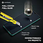 Защитное стекло MakeFuture для Xiaomi Redmi Note 9S Full Cover Full Glue, 0.33 mm (MGF-XRN9S), фото 5
