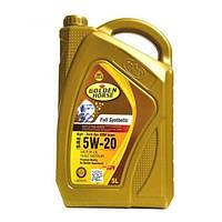 Golden Horse Синтетическое моторное масло Golden Horse 5W-20 5л