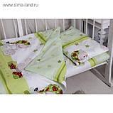 Постельное белье (три предмета)  в кроватку Мой ангелочек, фото 3