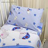 Постельное белье (три предмета)  в кроватку Мой ангелочек, фото 7