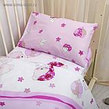 Постельное белье (три предмета)  в кроватку Мой ангелочек, фото 9