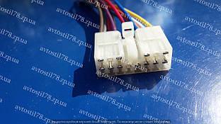 Разъем блока управления стеклоподъемника Ланос 4-х клавишный