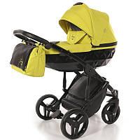 Детская коляска 2 в 1 Tako Junama Diamond 02 Желтая (13-JD02)