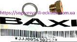 Втулка латунь 10 мм + кольцо алюм. кл. 3 ход (ф.у, EU) Baxi Eco/Luna, Energy/Star, арт. 5630250,  к.з. 0191/4, фото 2