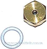 Втулка латунь 10 мм + кольцо алюм. кл. 3 ход (ф.у, EU) Baxi Eco/Luna, Energy/Star, арт. 5630250,  к.з. 0191/4, фото 6