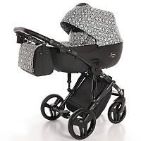 Детская коляска 2 в 1 Tako Junama Fashion Pro Astec Серая с черным (13-JFPAs)