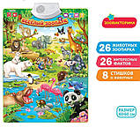 Плакат Весёлый зоопарк, фото 2