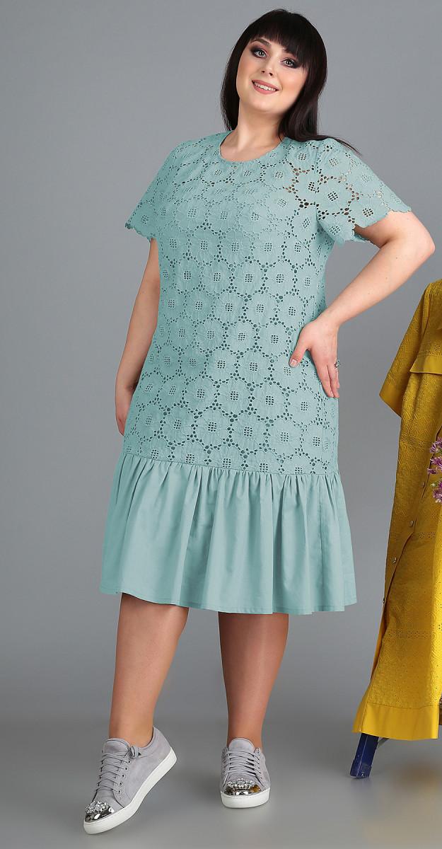 Платье Novella Sharm-3524-с белорусский трикотаж, бирюза, 60