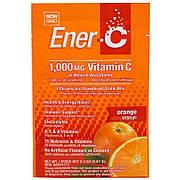Витаминный Напиток для Повышения Иммунитета, Вкус Апельсина, Vitamin C, Ener-C, 1 пакетик