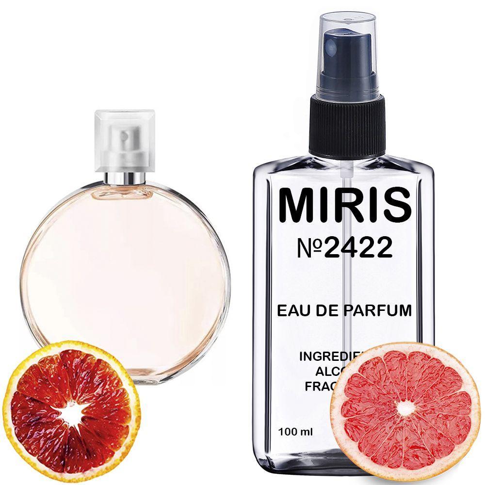Духи MIRIS №2422 (аромат схожий на Chanel Chance Eau Vive) Жіночі 100 ml