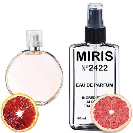 Духи MIRIS №2422 (аромат схожий на Chanel Chance Eau Vive) Жіночі 100 ml, фото 2