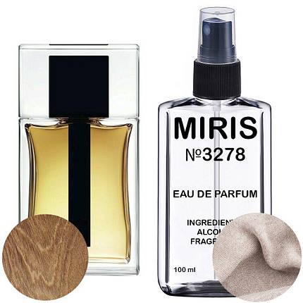 Духи MIRIS №3278 (аромат схожий на Dior Homme 2020) Чоловічі 100 ml, фото 2