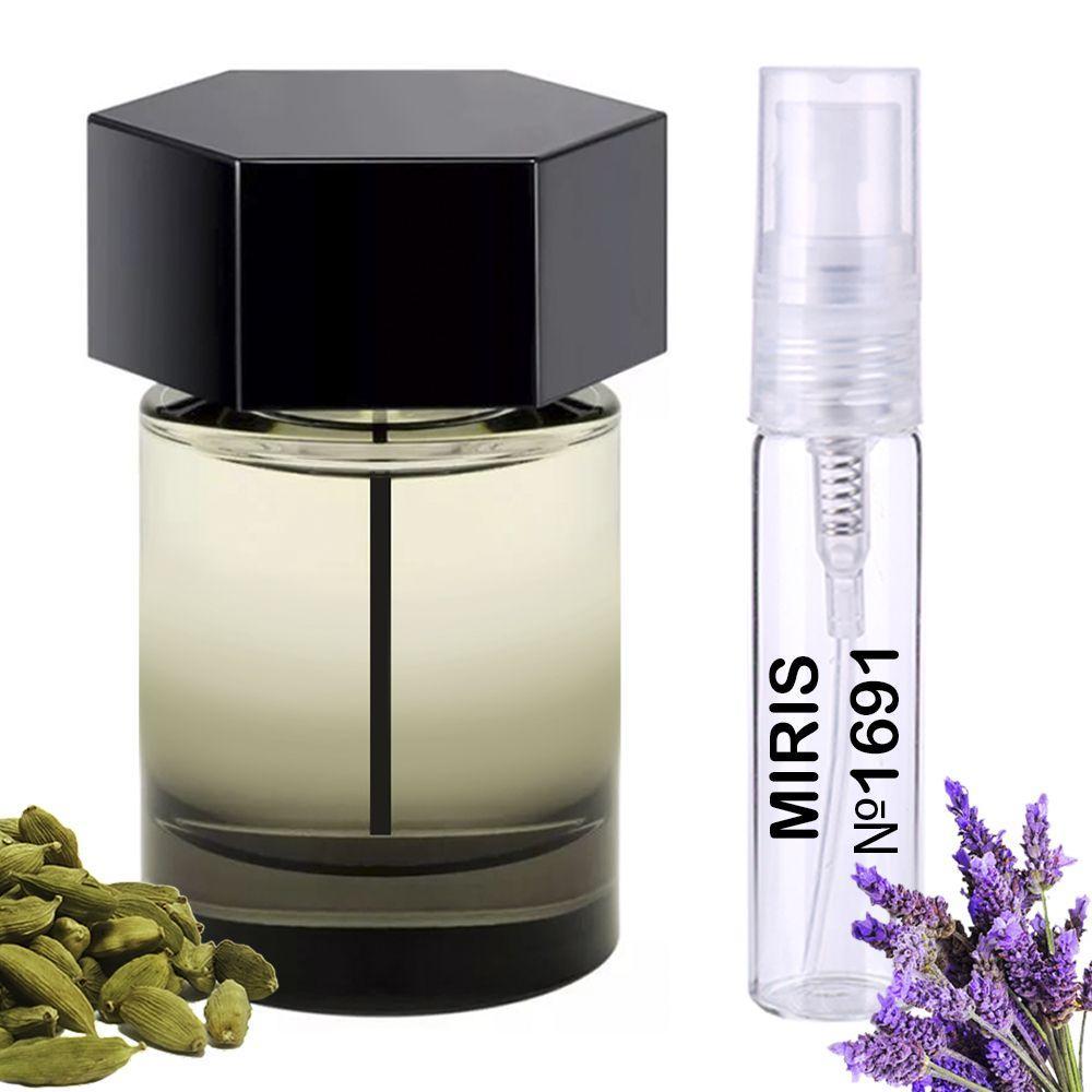 Пробник Духов MIRIS №1691 (аромат похож на Yves Saint Laurent La Nuit De L Homme) Мужской 3 ml